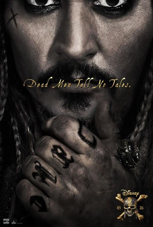 Poster Piraţii Din Caraibe 5: Răzbunarea Lui Salazar