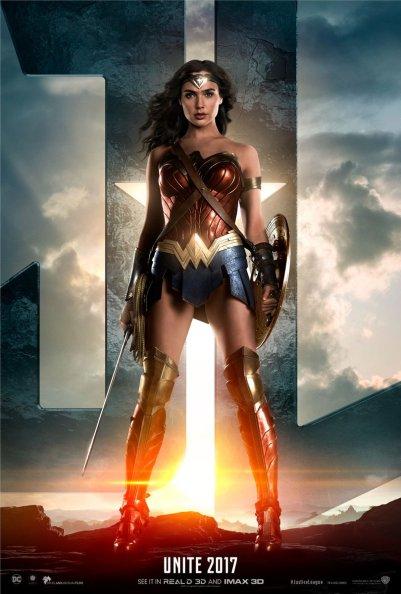Justice League Wonder Woman Poster