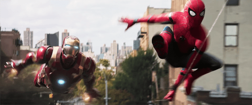 Spiderman: Homecoming - Iron Man si Spiderman