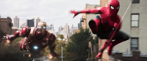 Spiderman: Homecoming - Iron Man si Spiderman