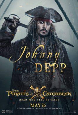 Pirații din Caraibe: Răzbunarea Lui Salazar Poster (Johnny Depp)