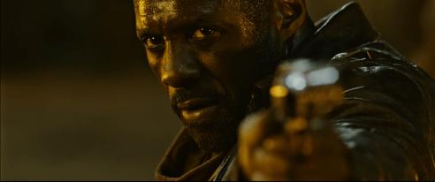 Roland (Idris Elba) in THE DARK TOWER.