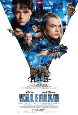 Poster Valerian Şi Orașul Celor O Mie De Planete