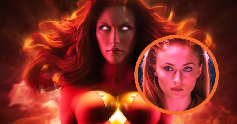 Dark Phoenix - Jean Grey (Sophie Turner).