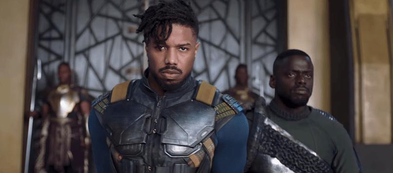 Black Panther (2018) Michael B. Jordan