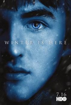 Game Of Thrones Season 7 Poster: Bran Stark