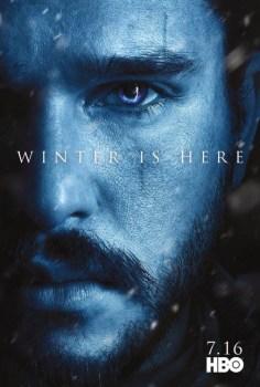 Game Of Thrones Season 7 Poster: Jon Snow