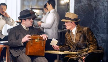 MURDER ON THE ORIENT EXPRESS: Josh Gad, Johnny Depp