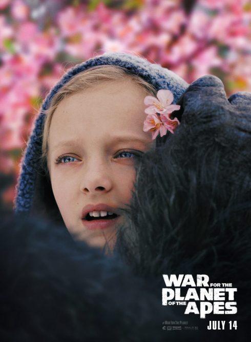 Poster Planeta Maimuţelor: Războiul - Nova