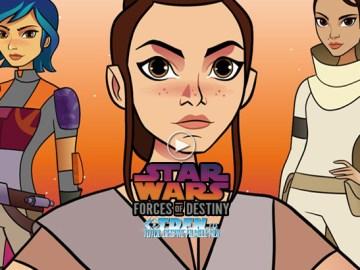 Vezi Online STAR WARS: FORCES OF DESTINY Filmele Scurte Cu Personajele Feminine Ale Francizei
