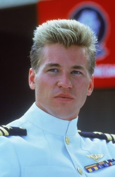 Val Kilmer (Iceman) in Top Gun