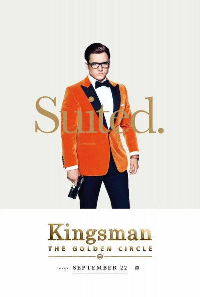Kingsman: The Golden Circle: Taron Egerton