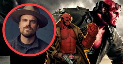 David Harbor, în rolul principal al investigatorului paranormal Hellboy
