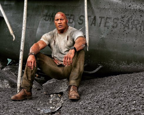 RAMPAGE: Dwayne Johnson