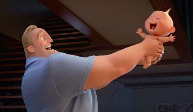 Incredibles 2: Bob şi Jack-Jack.