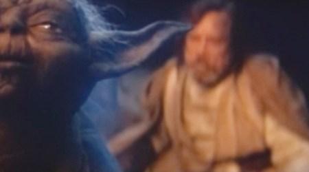 The Last Jedi: Luke and Yoda