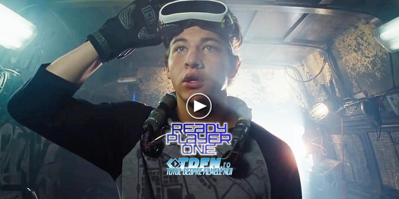 Vezi Noul Trailer Pentru READY PLAYER ONE Viitorul Film SF Al Lui Steven Spielberg