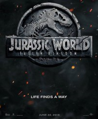TEASER POSTER JURASSIC WORLD: FALLEN KINGDOM