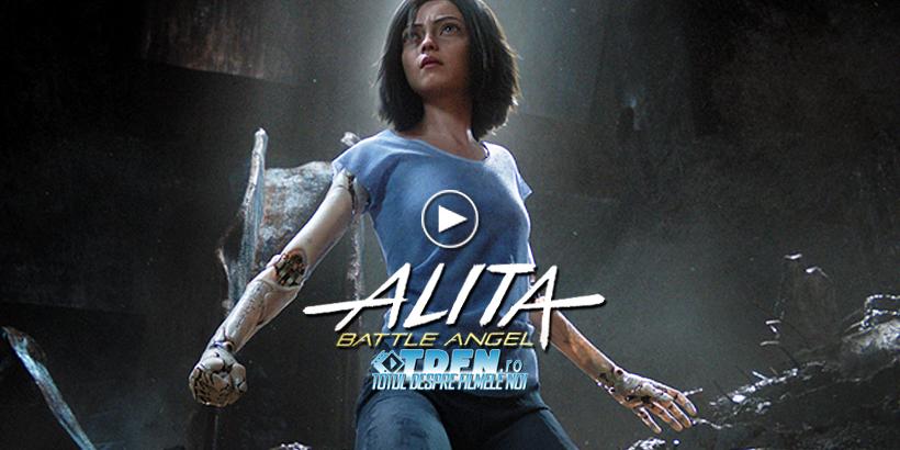 Primul Trailer ALITA: BATTLE ANGEL Adaptarea SF A Lui Robert Rodriguez Şi James Cameron