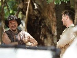 Chris Hemsworth (Wally Jr.) şi Danny McBride (Brian Dundee)