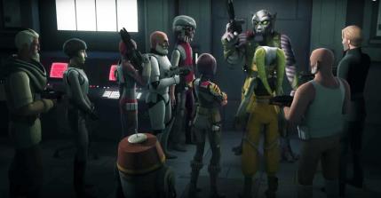 Star Wars Rebels: Rebelii