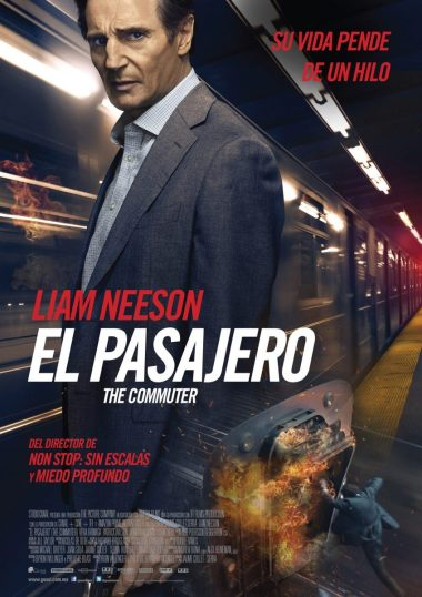 Poster The Commuter