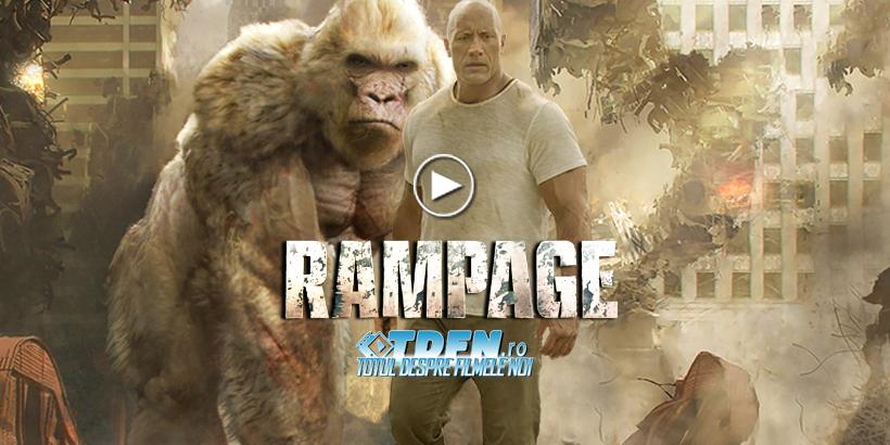 RAMPAGE: În Noul Trailer DWAYNE JOHNSON Face Echipă Cu O Gorilă Uriaşă