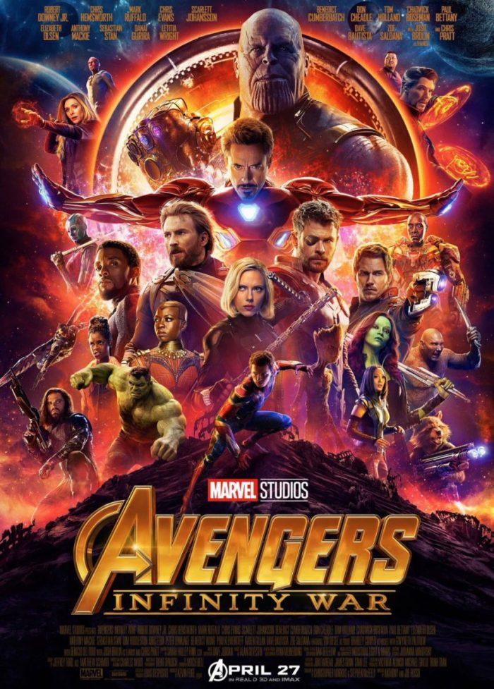 Poster Avengers: Infinity War (2018)