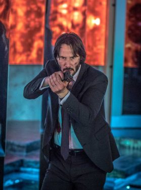 Keanu Reeves în John Wick Chapter 3