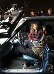 Jennifer Garner la filmările producţiei Peppermint.