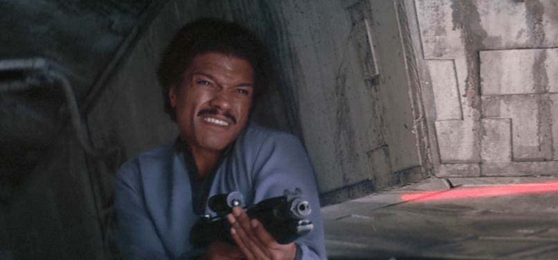 Billy Dee Williams in Return Of The Jedi (1983)