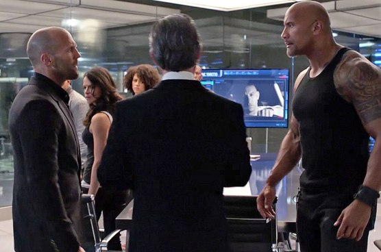 The Fate Of The Furious: Luke Hobbs si Deckard Shaw