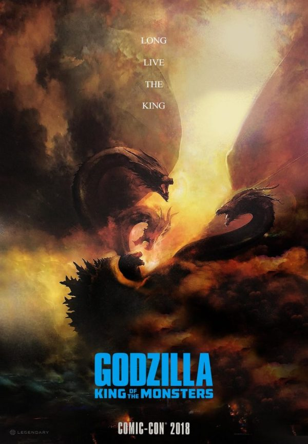 Godzilla: King Of The Monsters - Comic-Con 2018 Poster