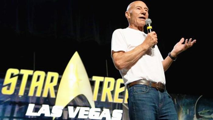 Patrick Stewart la convenția fanilor Star Trek din Last Vegas (2018)