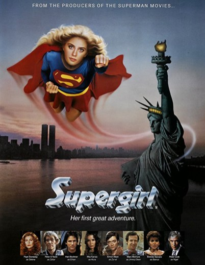 Poster pentru filmul Supergirl (1984)