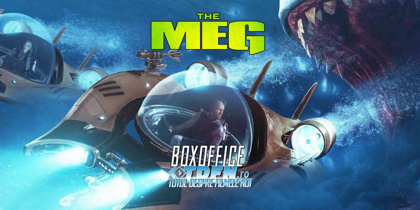 JASON STATHAM Şi Filmul THE MEG Devorează Concurența La Boxoffice