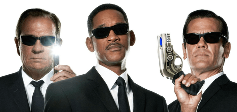 Will Smith, Tommy Lee Jones și  Josh Brolin în Men In Black 3
