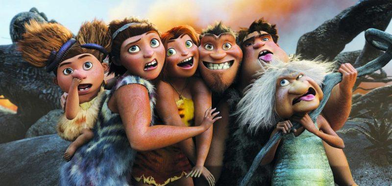 Portret de familie: The Croods