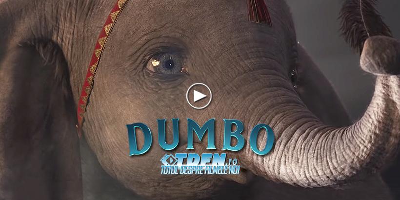 Elefantul Zburător DUMBO Se Înalţă Tot Mai Sus În Noul Trailer Fantastic