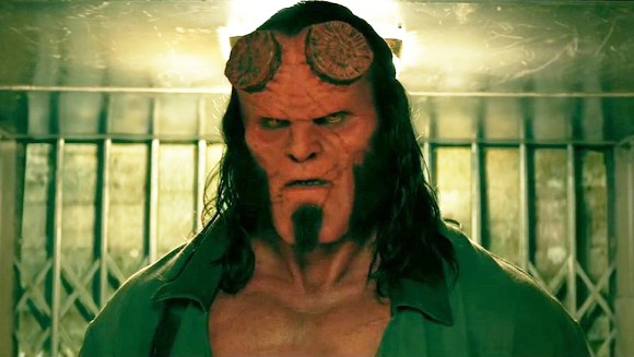 David Harbour in Hellboy (2019)