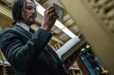 Keanu Reeves in JOHN WICK: CHAPTER 3 - PARABELLUM.