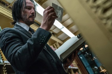 Keanu Reeves in JOHN WICK: CHAPTER 3 - PARABELLUM.