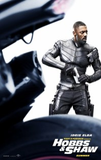 Hobbs And Shaw Poster: Idris Elba