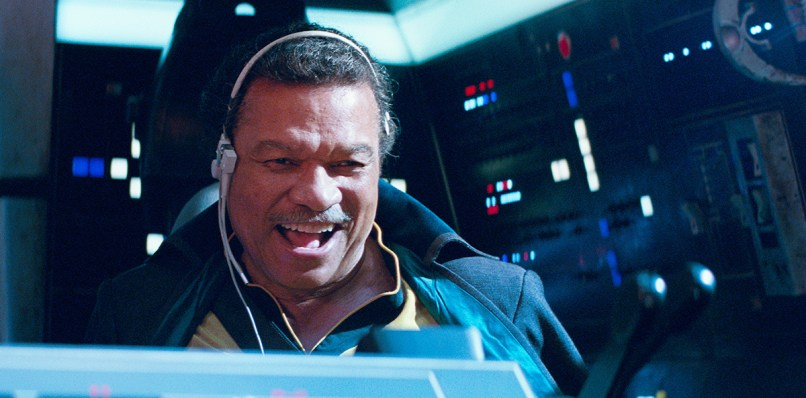 Lando Calrissian (Billy Dee Williams) în STAR WARS: THE RISE OF SKYWALKER.
