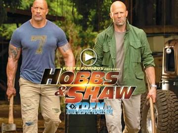 Trailer Nou HOBBS AND SHAW: O Nebunie Vizuală Cu DWAYNE JOHNSON Şi JASON STATHAM
