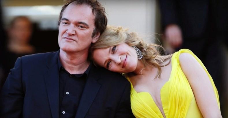 Quentin Tarantino şi Uma Thurman