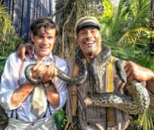 Dwayne Johnson si Jack Whitehall: Jungle Cruise
