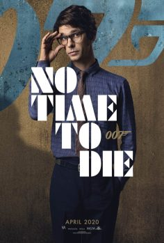 No Time To Die Poster: Ben Whishaw