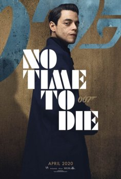No Time To Die Poster: Rami Malek
