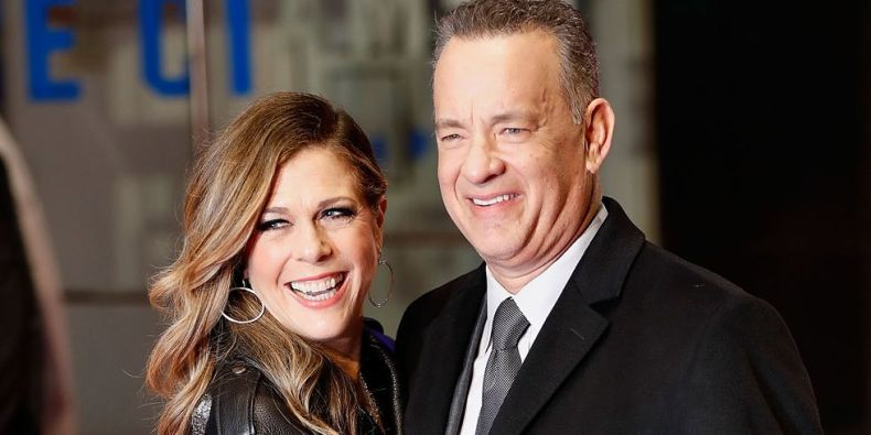 Tom Hanks și Rita Wilson